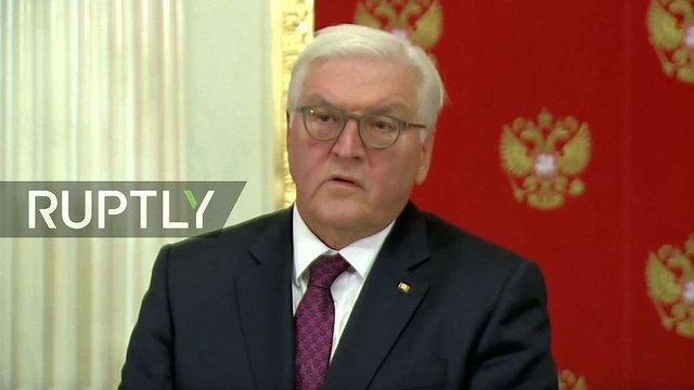 Російські ЗМІ приписали Штайнмаєру слова про «возз'єднання Криму з РФ»