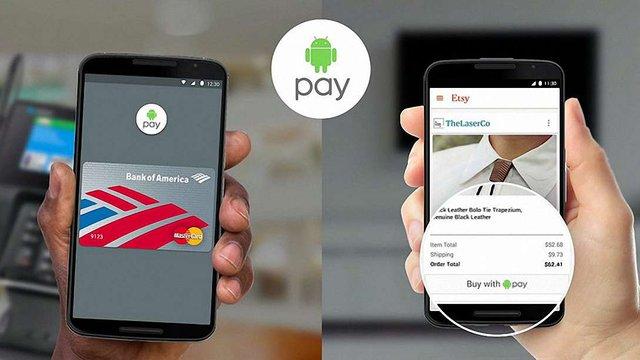 Google з 1 листопада запустить в Україні сервіс безконтактної оплати Android Pay