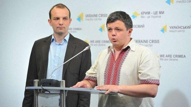 Семенченко і Соболєв оголосили про блокаду бізнесу Порошенка