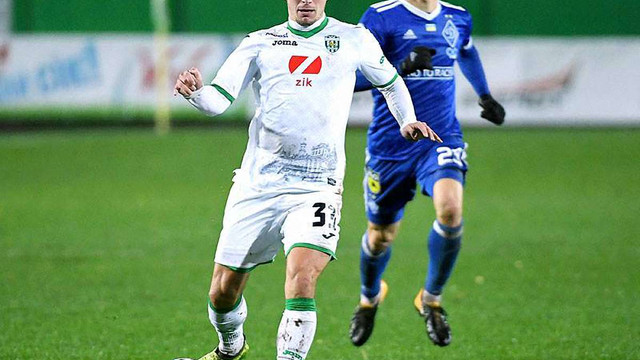 «Карпати» зіграли у нічию з «Динамо» завдяки суперголу Мякушка