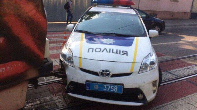 Суд оштрафував патрульного поліцейського за ДТП з трамваєм у Львові
