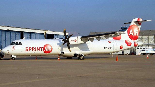 Польська авіакомпанія SprintAir припинила польоти до Львова
