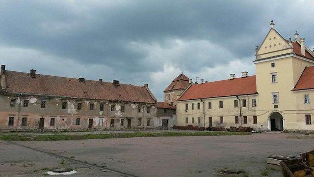У Жовківському замку відремонтують найзруйнованіший його корпус