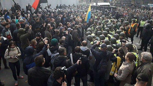 Арсен Аваков оголосив про відкликання бійців Нацгвардії з-під Ради