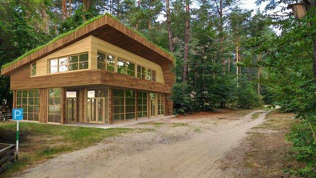 У Яворівському національному парку збудують візит-центр з готелем та бібліотекою