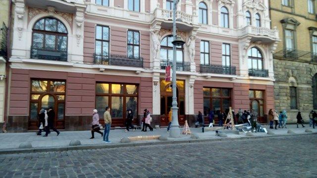 У центрі Львова облаштують парковку «Гранд Готелю»