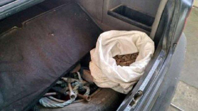 У Раві-Руській прикордонники в автомобілі мешканця Львівщини виявили майже 3 кг бурштину