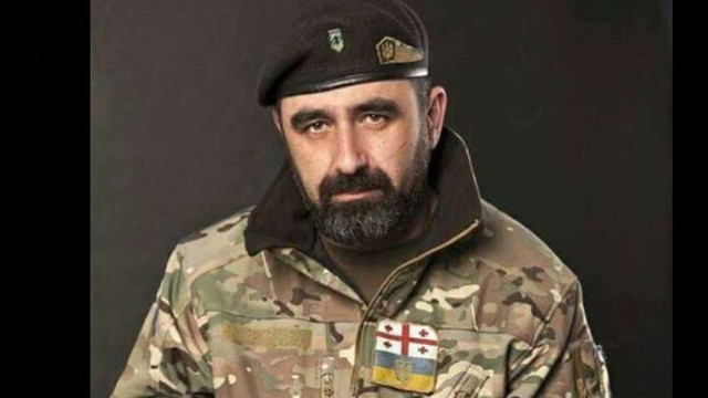 В зоні АТО загинув доброволець з Грузії Георгій Саралідзе