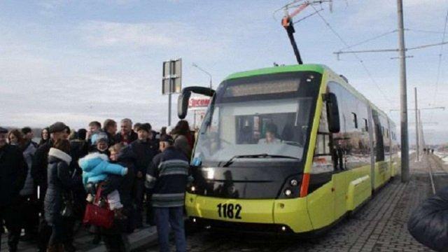 На сихівській трамвайній лінії кількість вагонів збільшили на 50%