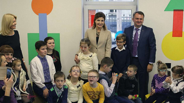 Марина Порошенко відкрила у Львові простір для дітей з інвалідністю