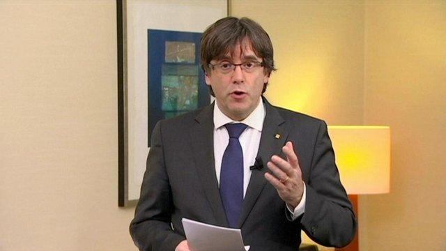 Бельгія отримала ордер на арешт екс-лідера Каталонії Карлеса Пучдемона