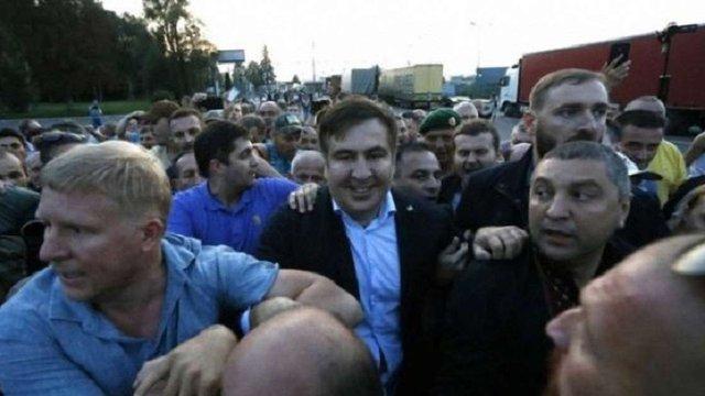 Саакашвілі заплатив штраф за незаконний перетин кордону