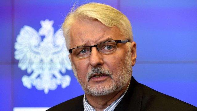 Міністр МЗС Польщі заявив у Львові, що Україна нічого не робить для історичного примирення