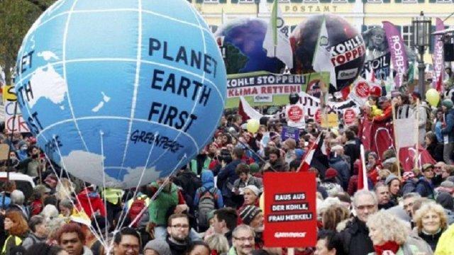 У Німеччині тисячі людей вимагали відмови від вугільної енергетики