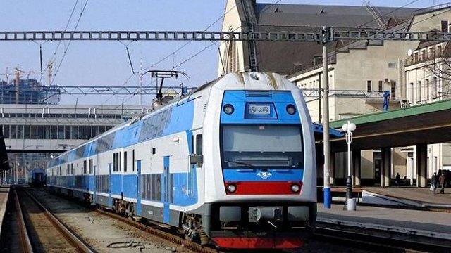 «Укрзалізниця» запустила швидкісний двоповерховий поїзд Skoda за маршрутом Київ - Тернопіль