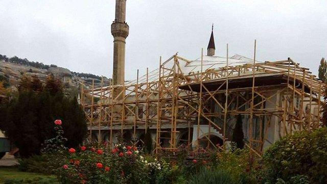 Мінкультури опротестувало незаконну реконструкцію Ханського палацу у Бахчисараї