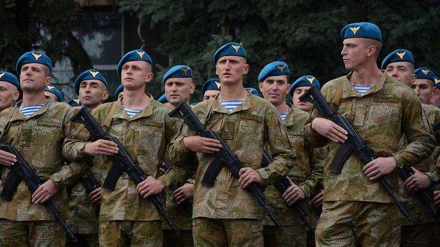 Міноборони анонсувало перейменування ВДВ у Десантно-штурмові війська