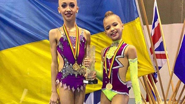 Львівська гімнастка Христина Погранична здобула всі золоті медалі турніру в Бельгії