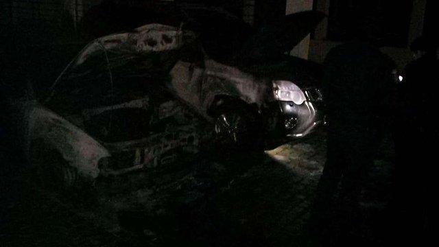 Вночі у Львові горіли три автомобілі