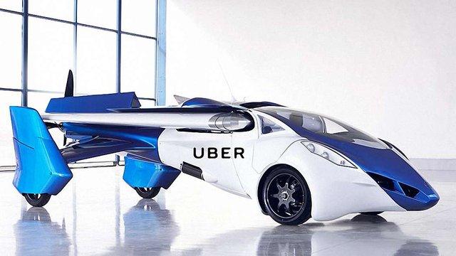 NASA і Uber запустять летюче таксі