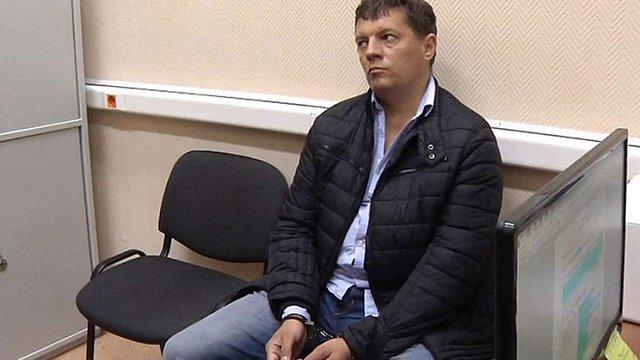 Московський суд залишив українського журналіста Романа Сущенка під вартою