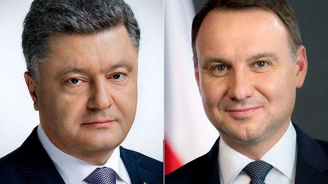 Петро Порошенко і Анджей Дуда домовилися провести засідання Комітету президентів у Кракові