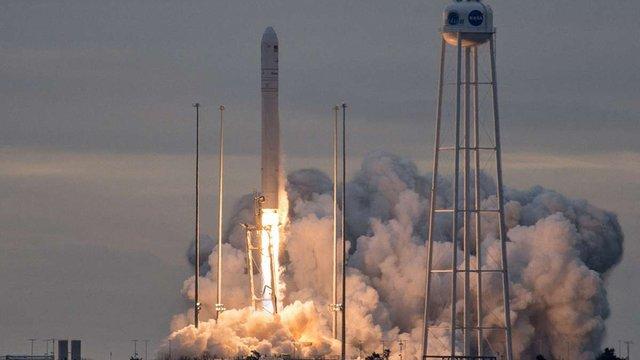 У США запустили побудовану за участі українських фахівців ракету «Antares»