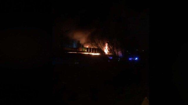 На ринку «Галицьке перехрестя» виникла пожежа