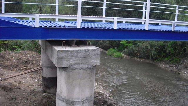 Уряд виділив ₴10 млн на відбудову зруйнованого моста у Бориславі