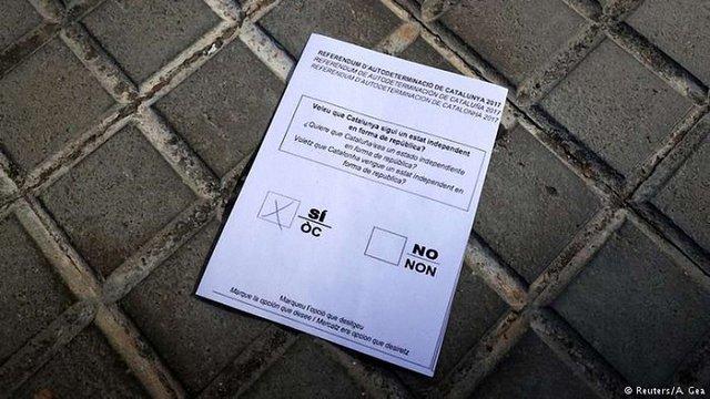 Іспанія готова надати докази втручання Росії в референдум у Каталонії