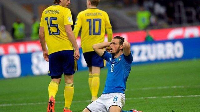 Збірна Італії вперше за 60 років не зіграє на Чемпіонаті світу з футболу