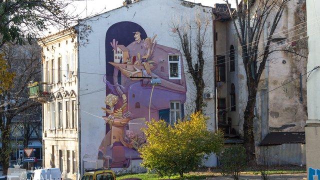 У Львові створять туристичний маршрут муралами Підзамча