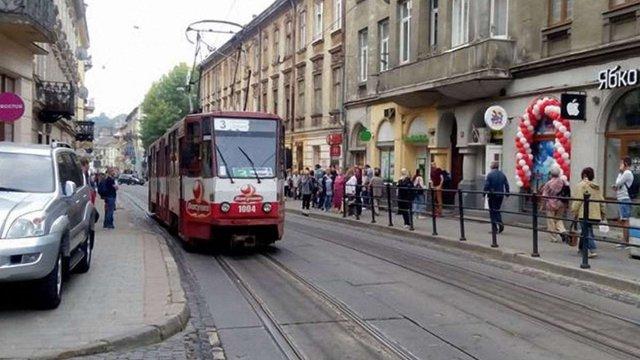 На вихідних у Львові не курсуватимуть трамваї трьох маршрутів