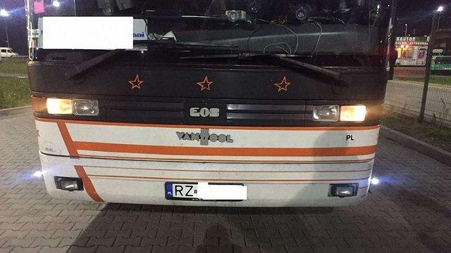 Львівські прикордонники конфіскували польський рейсовий автобус за контрабанду сигарет