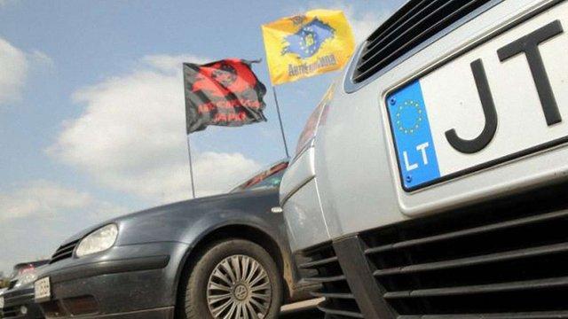 Уряд ініціював легалізацію нерозмитнених автомобілів в Україні