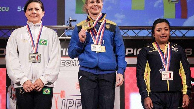 Українці завоювали дві золоті медалі на чемпіонаті світу з пауерліфтингу