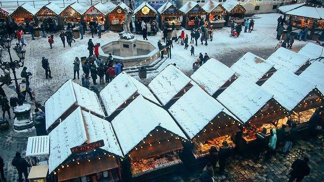 Різдвяний ярмарок працюватиме у центрі  Львова понад місяць