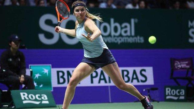 WTA визнала матч за участю українки Еліни Світоліної найкращим у 2017 році