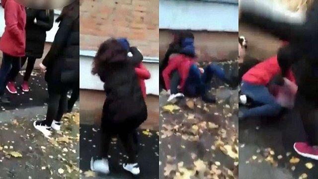 У Полтаві група восьмикласниць побила свою однолітку біля школи