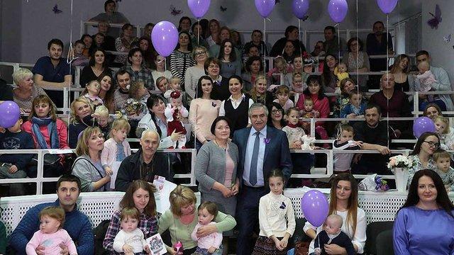 Більше сотні батьків недоношених дітей зібрались на зустріч у Львові