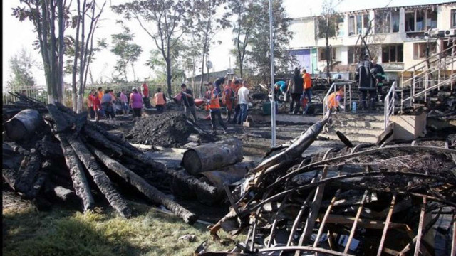 Причиною пожежі в дитячому таборі «Вікторія» в Одесі став увімкнений кип'ятильник