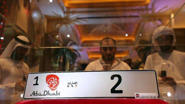 В ОАЕ автомобільний номер продали на аукціоні за $3 млн