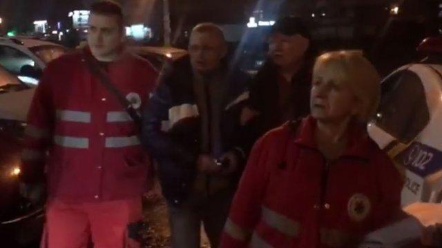 Саакашвілі повідомив про побиття свого водія