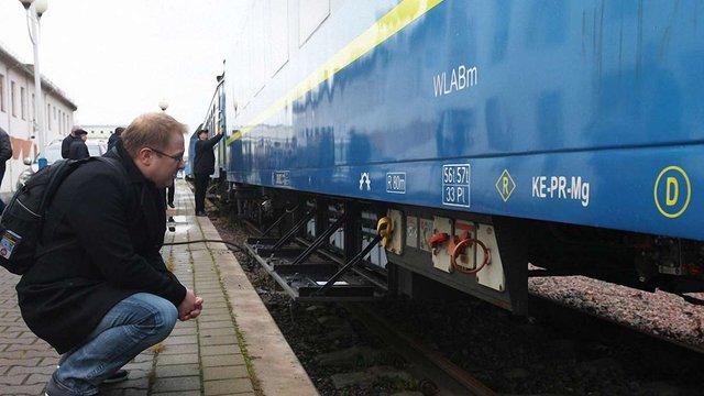 Крюківський завод показав вагони, якими зацікавилися угорська і австрійська залізниці