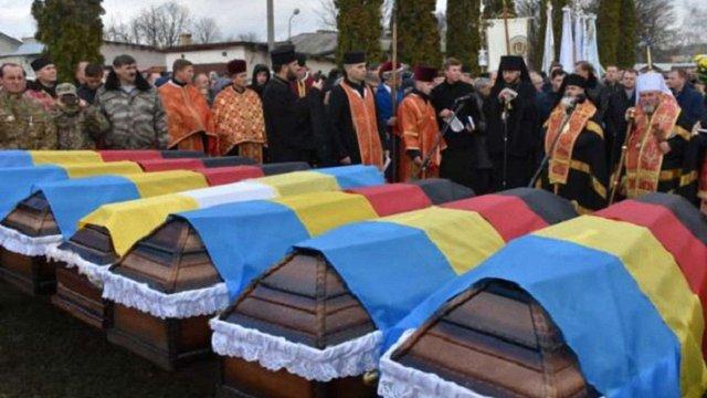На Тернопільщині перепоховали тіла 60 членів ОУН
