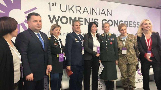 До українського війська цього року прийняли 2,4 тис. жінок