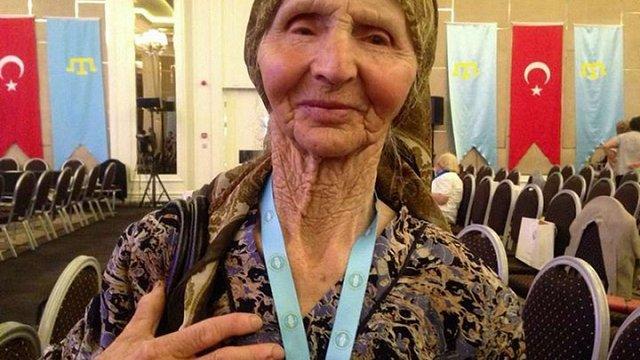 Після спроби затримання у Криму померла 83-річна кримськотатарська активістка