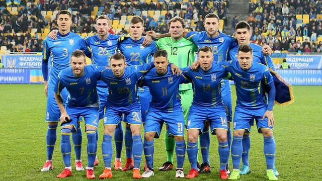 Збірна України втратила п'ять позицій у рейтингу ФІФА