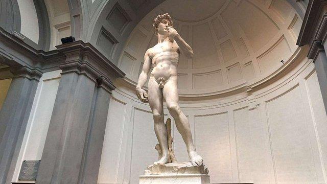 Суд Флоренції заборонив використання образу Давида Мікеланджело з комерційною метою