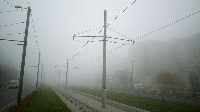 Синоптики обіцяють в суботу сильний туман у Львові